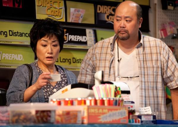 Photo of Jean Yoon (Mrs. Kim) and Paul Sun-Hyung Lee (Mr. Kim) by Cylla von Tiedemann