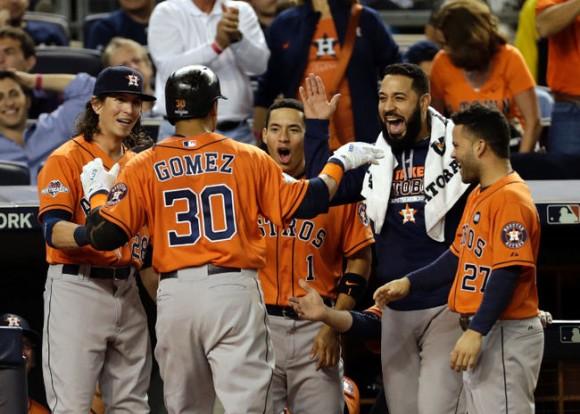 Upstart Astros blank Yankees in AL wild card victory