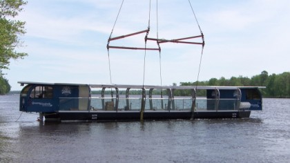 'Ottawa' Solar-Powered Boat Launched on Gatineau River Ahead of Rideau Canal Tours
