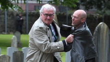 'Ottawa' Ambassador Kevin Vickers, Former House Sergeant-at-Arms, Tackles Protester in Dublin