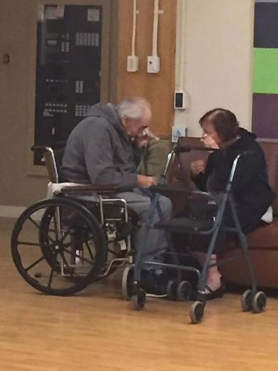 'Ottawa' Couple in 'Saddest Photo I Have Ever Taken' Happily Reunited in B.C. Care Home